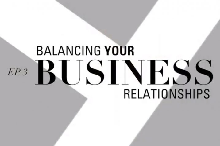 Balancing Your Business Relationships