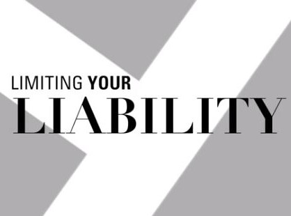 Limiting Your Liability