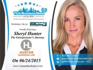 Press photo of Sheryl Hunter from That Business Show.