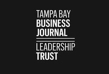 Photo of the Tampa Bay Business Journal Leadership Trust Press logo.