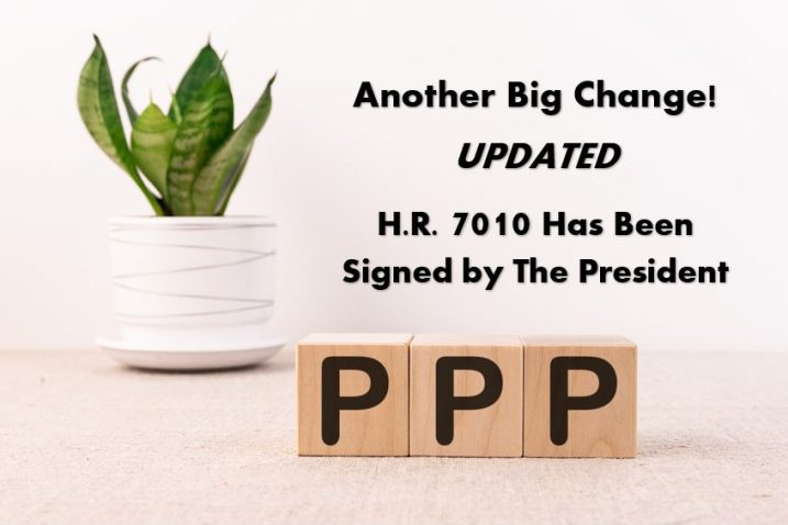 Oops, They (OFFICIALLY) Did It Again! Another Big Change to the Paycheck Protection Program Loan Forgiveness – Updated 6/12/2020