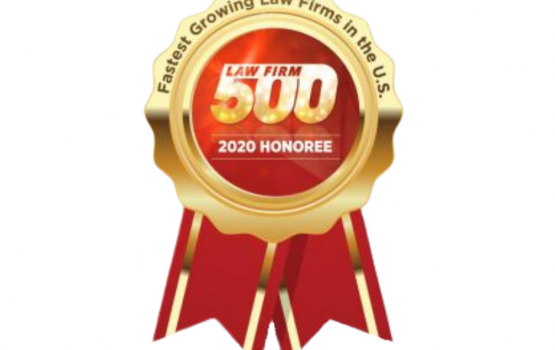 Local Tampa Firm Celebrates Positioning on 5th Annual Law Firm 500 Award List of Fastest Growing Law Firms in US