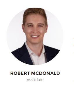 Hunter Business Law Welcomes New Associate Attorney, Robert McDonald.