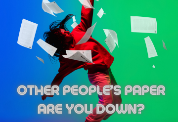 Other People's Paper – Are you down?
